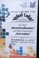 Besselstraßenchor 2009 mit First Ladies Vokal Lokal
