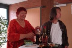Mit Flammenblättern 2008 - 09