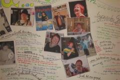 66. Geburtstag Fotos von Iris - Wandzeitung
